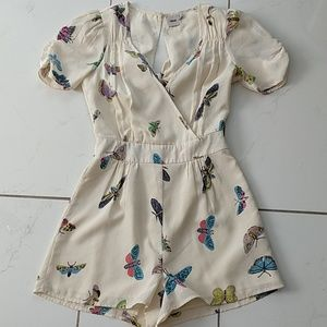 Asos Butterfly Romper Playsuit Like New